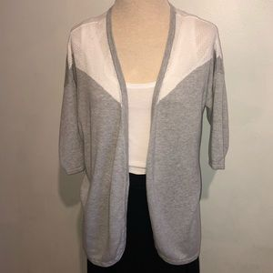 Design History Small Open Front Cardigan